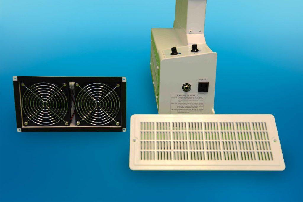 Crawl Space Conditioner Product Specs- EZ Breathe
